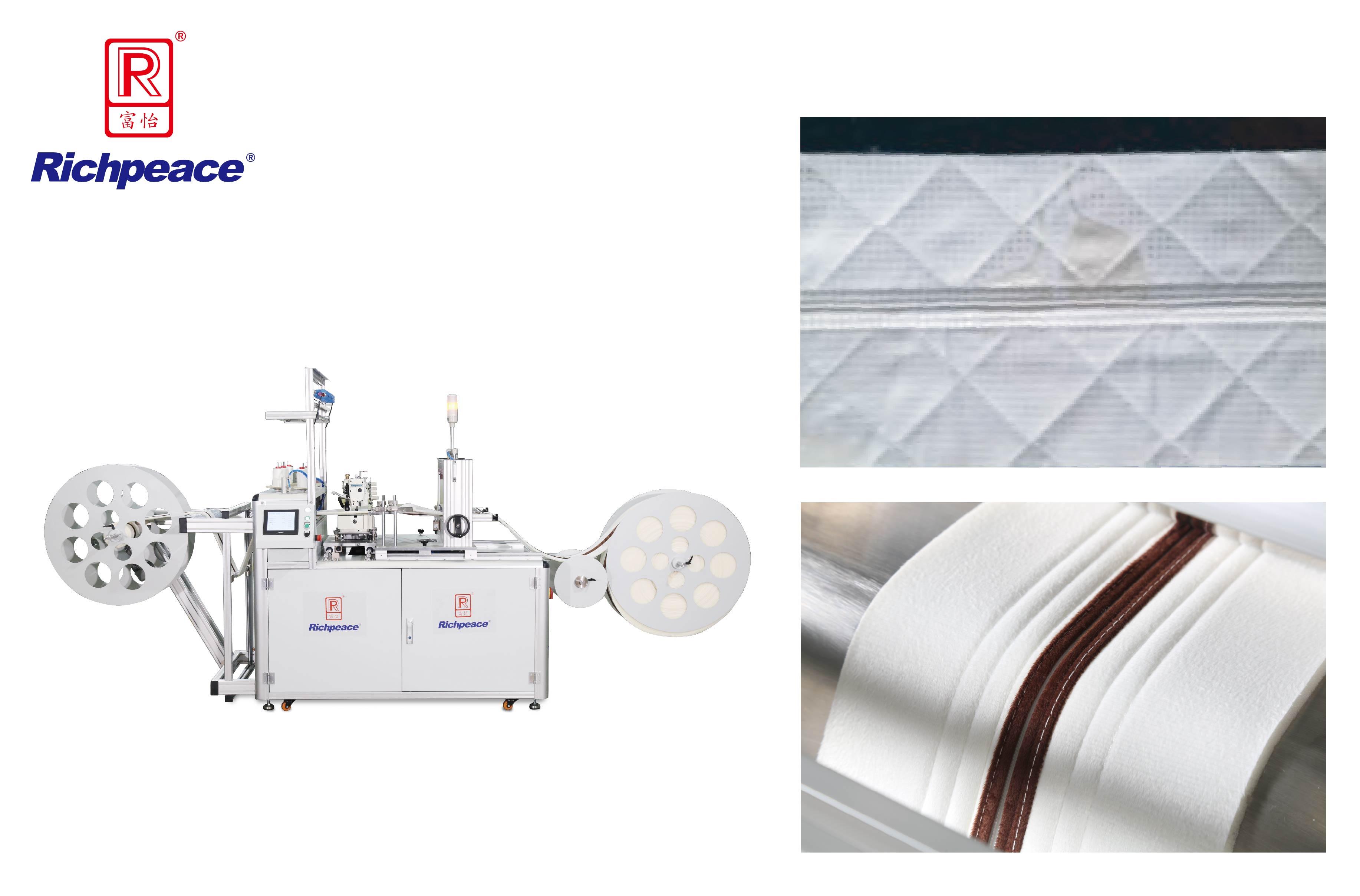 Richpeace Mattress Border Zipper Automatic Sewing Machine