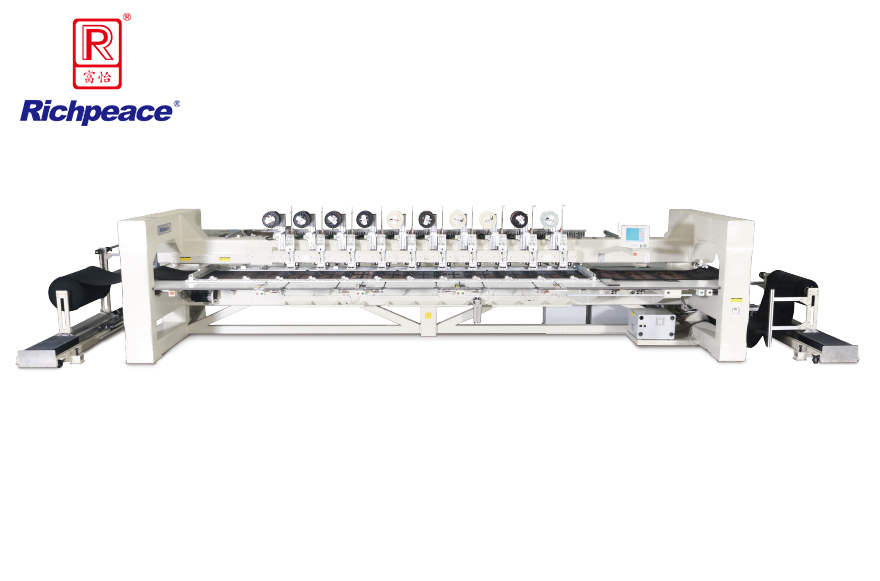 Richpeace Computerized Wire Stitching Machine for Automotive (auto left feeding and right collecting structure)