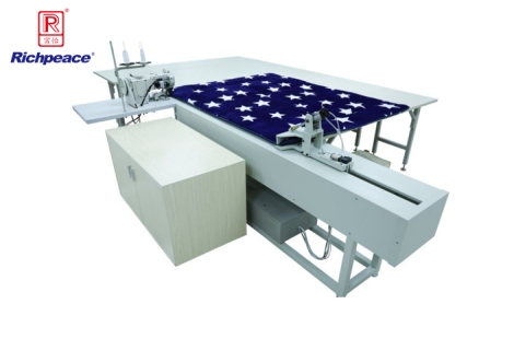 Richpeace Mattress binding working station with pulling system