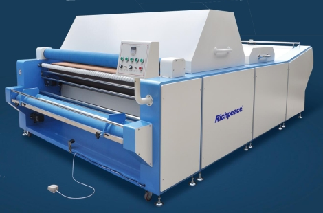 Richpeace Fabric shrinking and forming Machine(With automatic edge alignment function)