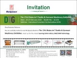 DTG - The 17th Dhaka Int'l Textile & Garment Machinery Exhibition