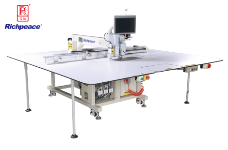Richpeace Automatic Cutting (Round Knife) and Sewing Machine