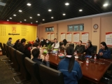 A Delegation of Chinese Apparel Entrepreneurs Visited Richpeace for Inspection And Guidance