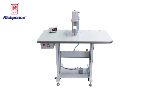 Richpeace Manual Installation Machine for Breathing  Valve of Medical Mask (mechanical version)