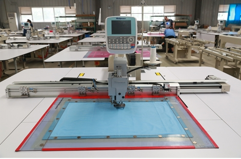 Richpeace Clothing template machine-pillowcase sewing machine