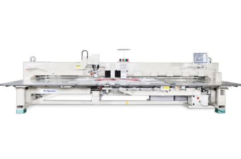 Richpeace Automatic Perforation + Embroidery + Sewing(Turning Head) Machine