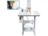 Richpeace manual hot pressing machine using for folding mask external nose clip&sponge.