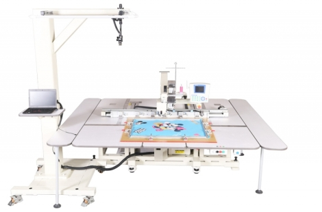 Richpeace Automatic Sewing Machine with Graphic Recognition