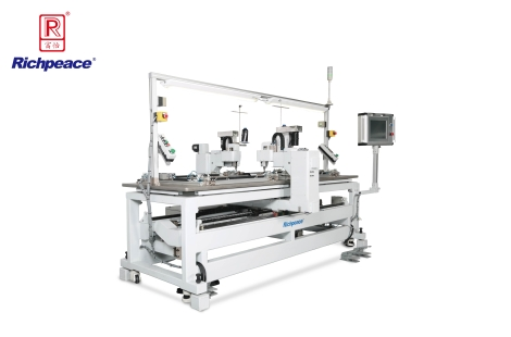 Richpeace Automatic Two-Station Sewing Machine