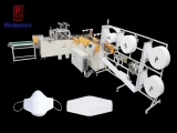 Richpeace Automatic Fish Mask Production Line, Suitable For Protective Fish Mask.