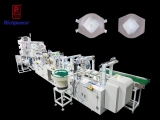 Richpeace Automatic Production Line For Cup Mask,Full process automatic production of cup mask