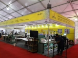 Directly at the exhibition, Richpeace at the Bangladesh Textile Machinery Exhibition