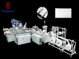 Richpeace 1-to-2 Disposable Flat Face Mask Automatic Production Line (With Side Cladding Device), One More Choice For Anti-epidemic Masks