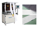 Richpeace Ink-jet Marking Cutting Machine, Fast speed, high precision, automatic marking and cutting for mattress border and zipper