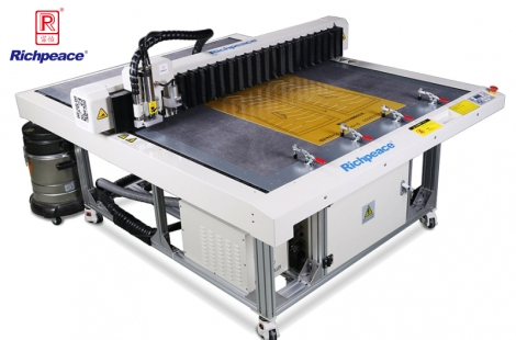 Richpeace Computerized Template Cutting Machine(Automatic Sheet Milling)