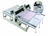 Richpeace precision quilting machine reduces the difficulty of duvets sewing, and improves the sewing precision with efficient production