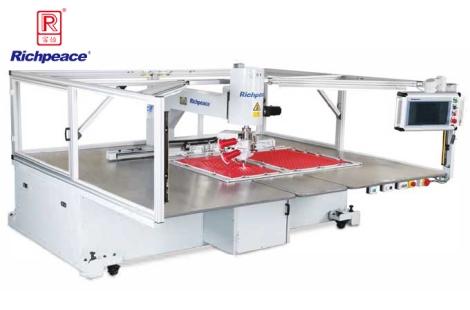 Richpeace double needles universal rotary automatic sewing machine