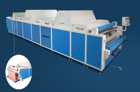 Richpeace Fabric shrinking and forming Machine(with cold air device)