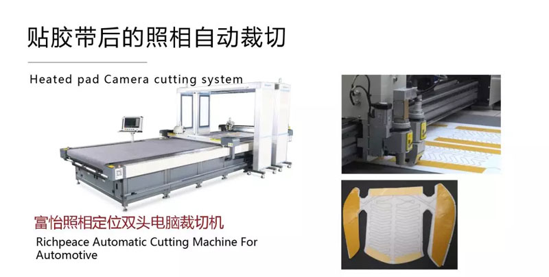 Richpeace Automatic Cutting Machine For Automotive